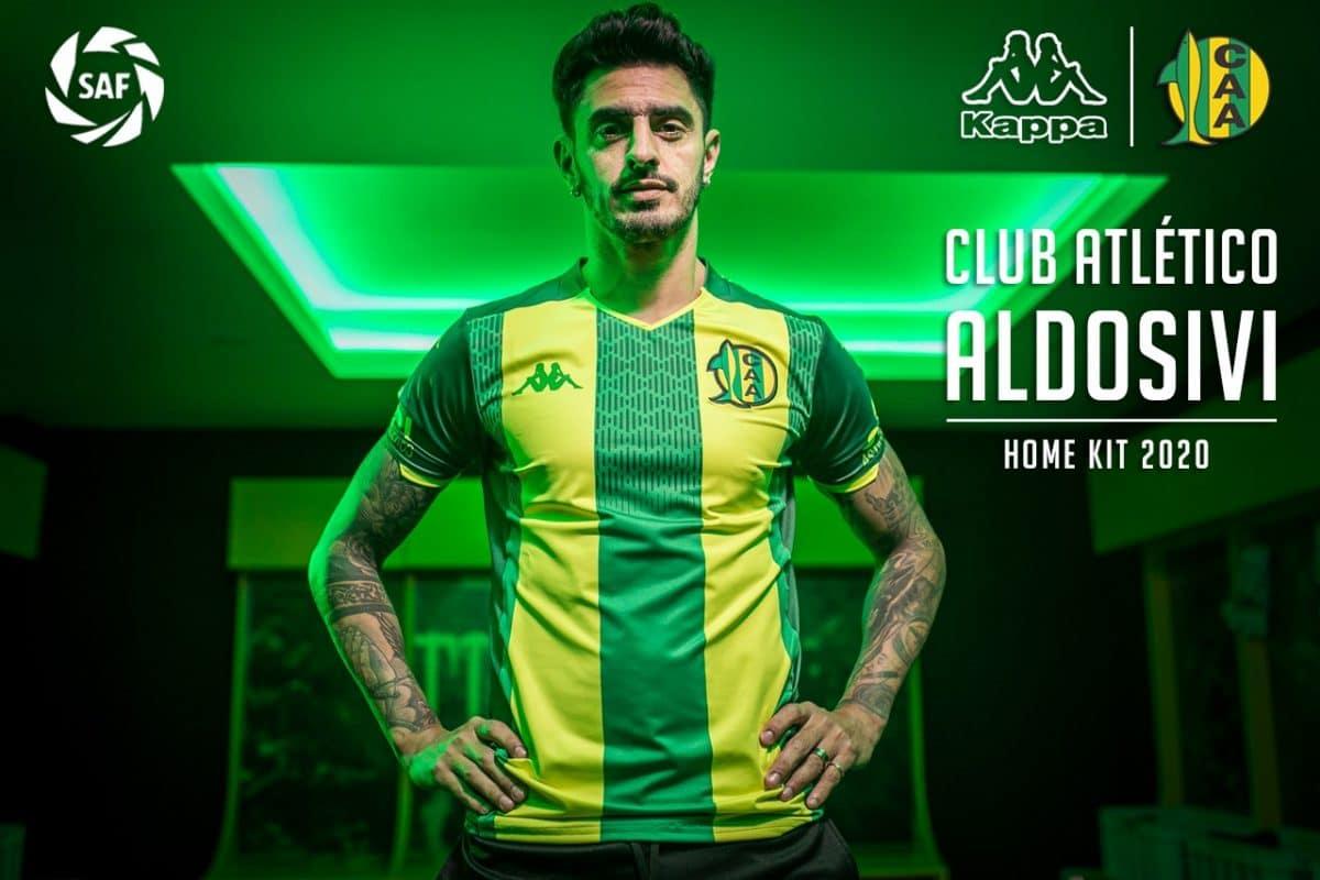 Aldosivi lanzó su camiseta para la próxima Superliga
