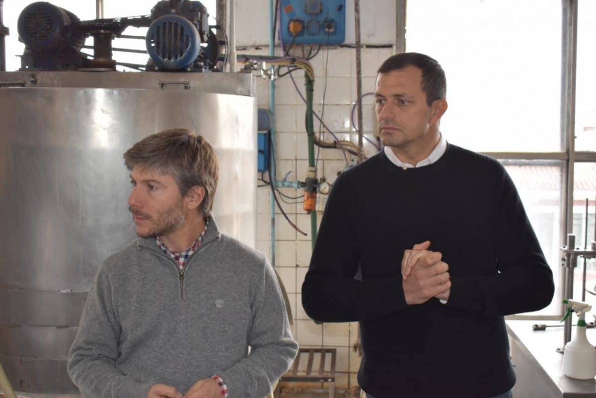 Bonifatti y Bucca presentaron Góndola de productos Marplatenses