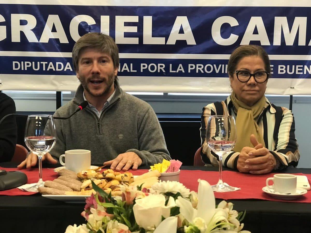 """Graciela Camaño: """"Bonifatti es un lujo de candidato"""""""