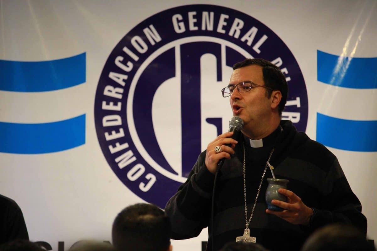 Obispo envió un mensaje a los trabajadores de la CGT Mar del Plata