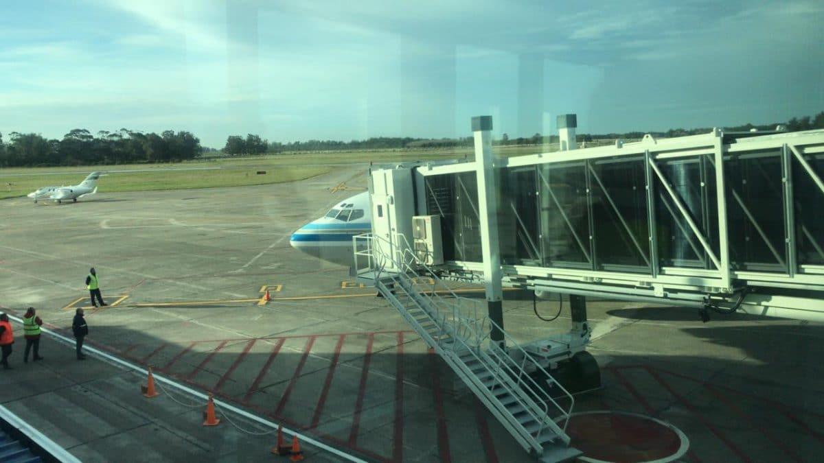 Macri recorrió el renovado Aeropuerto Internacional de Mar del Plata