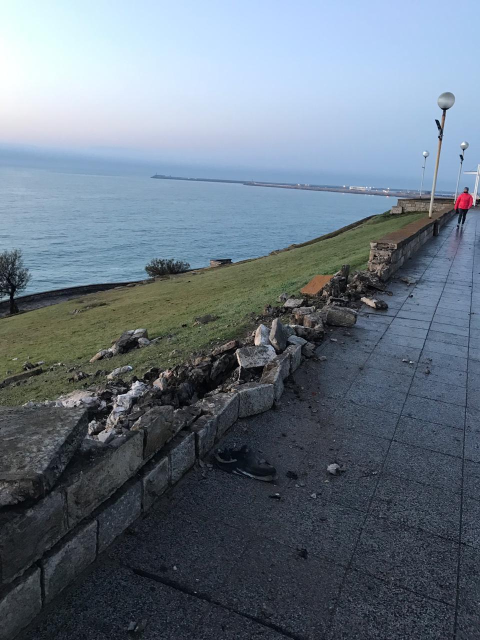 Impresionante siniestro de tránsito en el paseo costanero