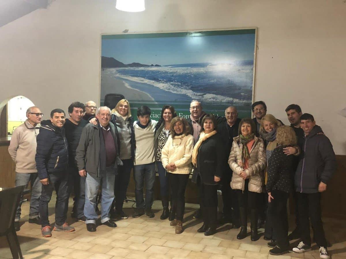 Baragiola se reunió con autoridades de la Sociedad de Fomento del Barrio Alfar