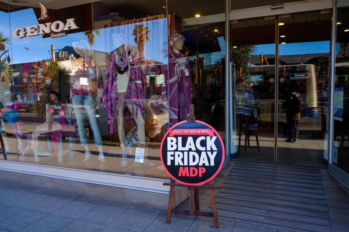 Todo listo para un nuevo Black Friday en Mar del Plata