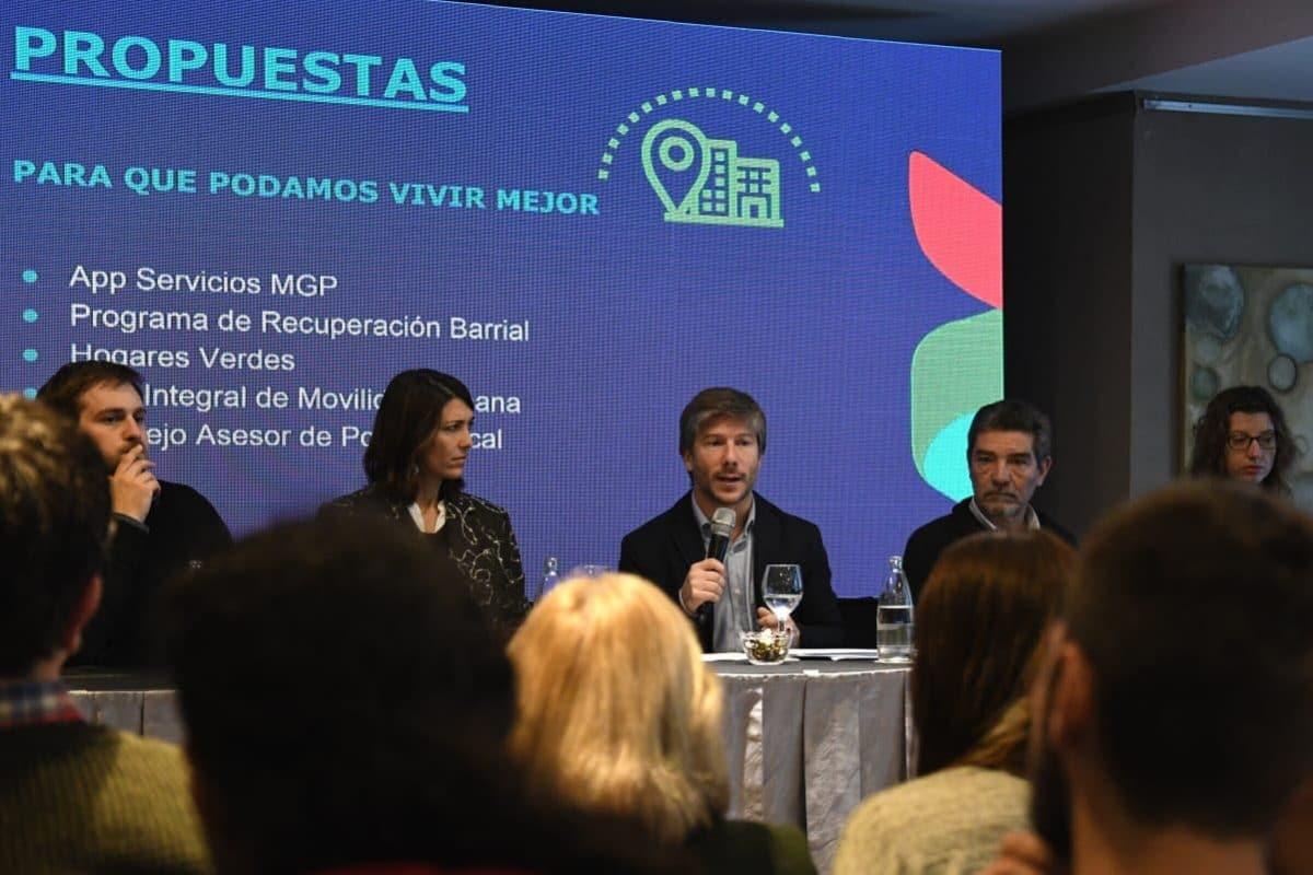 Consenso presentó sus propuestas para Mar del Plata