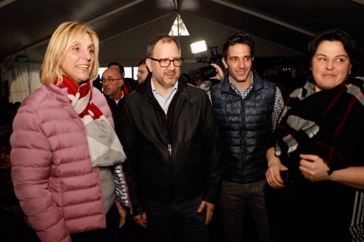 Baragiola recorrió la Feria de las Colectividades y Comprá Pyme