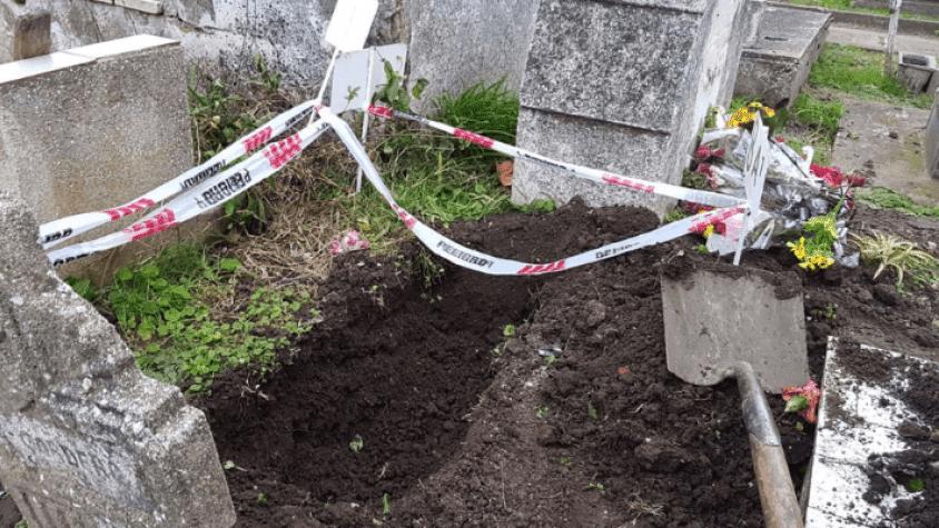 Descubren robo de otro cuerpo de un niño en cementerio de Miramar