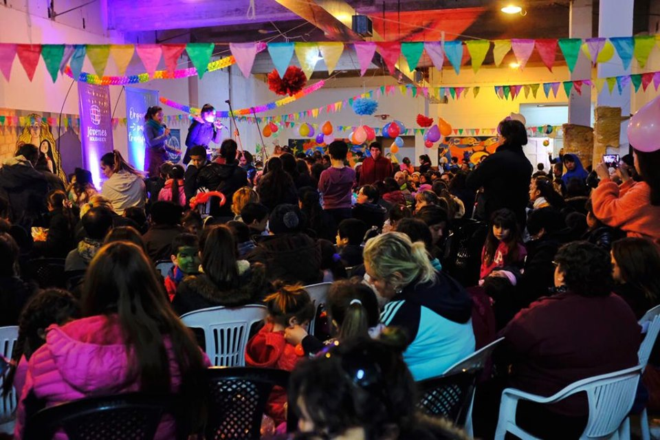 Más de trescientos niños y niñas participaron del festejo de Jóvenes Solidarios