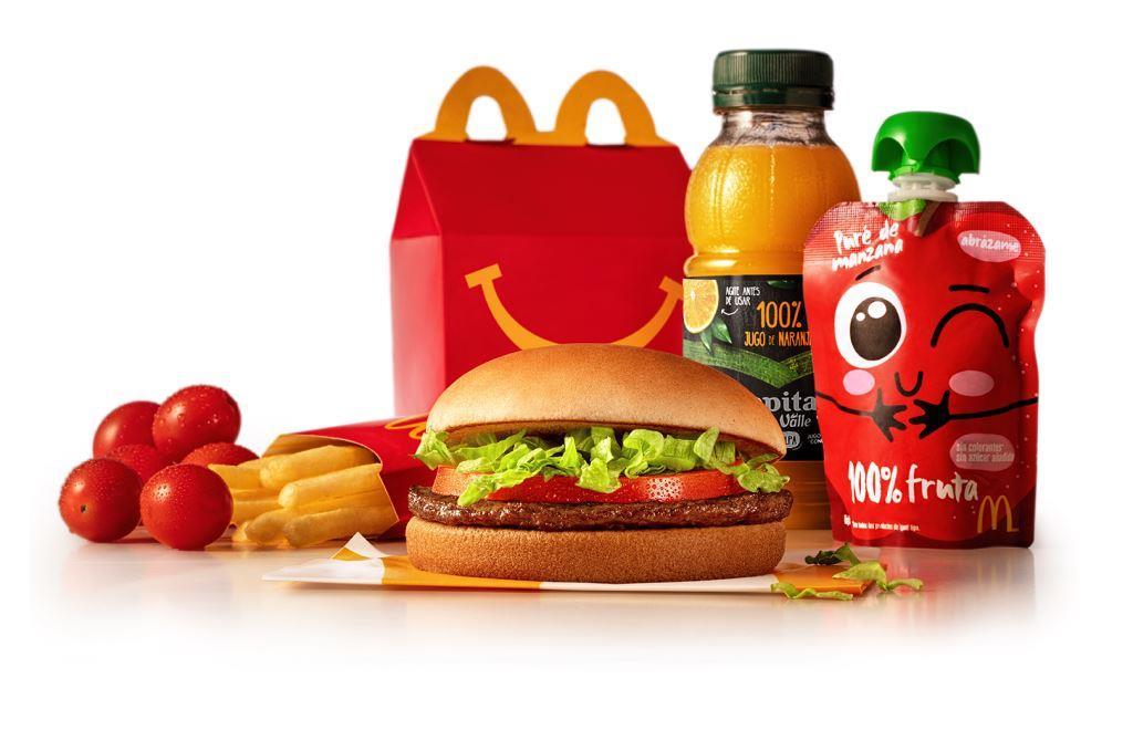 McDonald's evoluciona su Cajita Feliz para ofrecer opciones más nutritivas