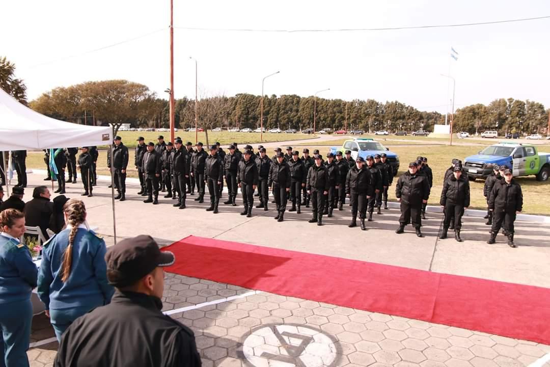 Nuevos guardias en el Complejo Penitenciario de Batán