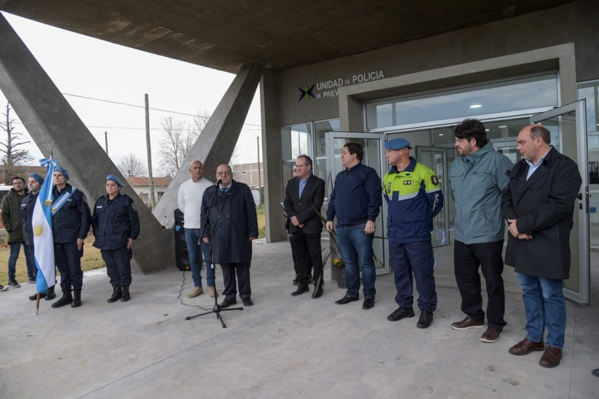 Arroyo inauguró la sede de la Policía de Prevención local