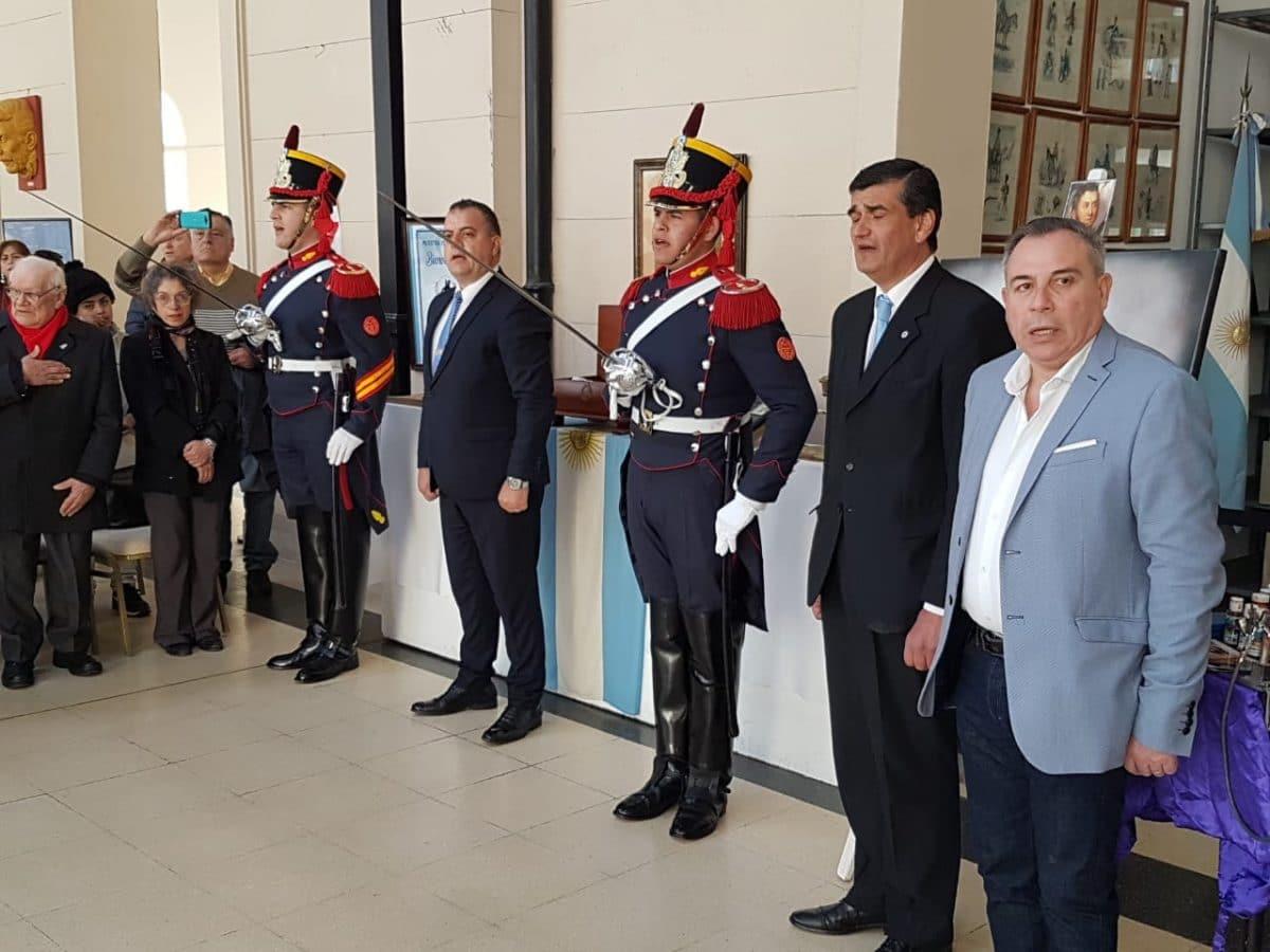 Se realizó una muestra itinerante sobre el General San Martín