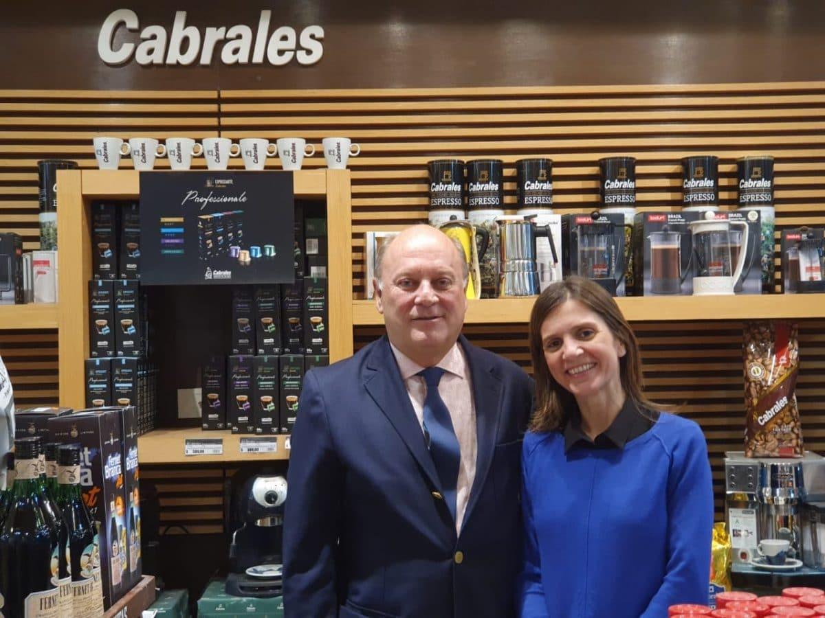 Raverta y el empresario Cabrales analizaron la situación del sector productivo local