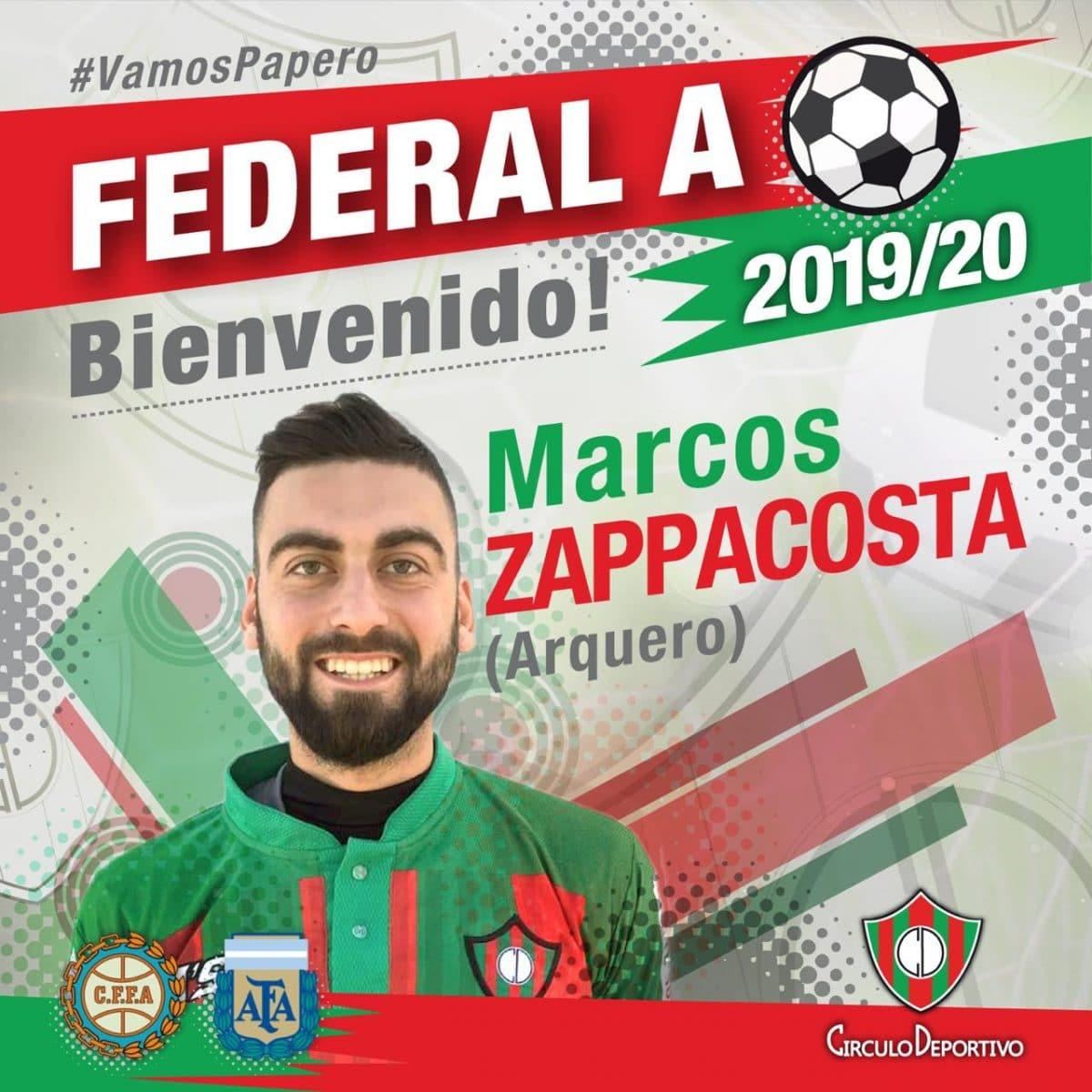 Círculo Deportivo, con plantel completo para afrontar el Federal A