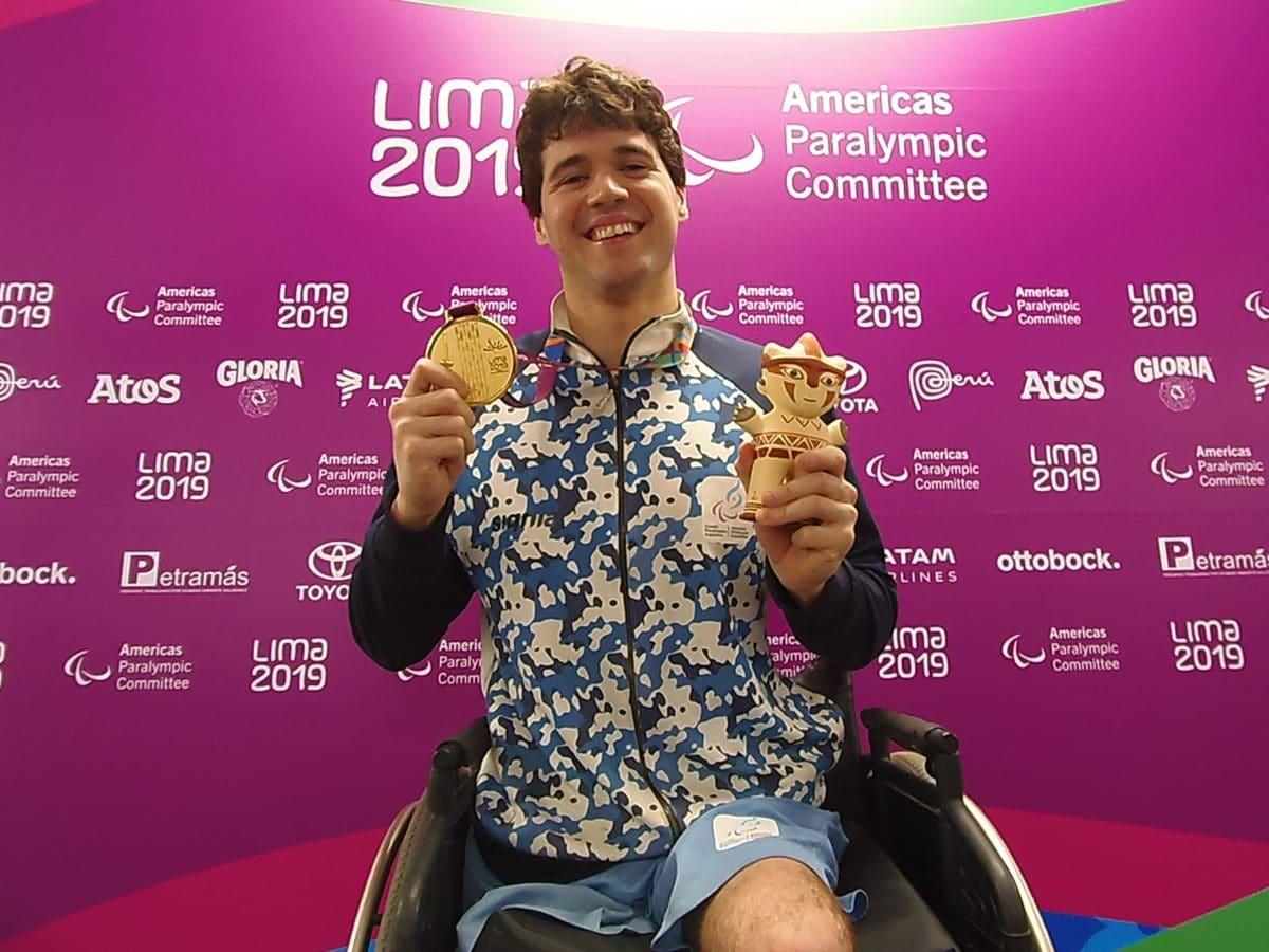 Parapanamericanos: Matías De Andrade logró la medalla de oro que buscaba
