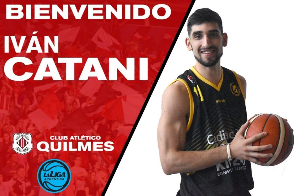 Quilmes: Álvaro Merlo e Iván Catani, primeras fichas para la Liga Argentina
