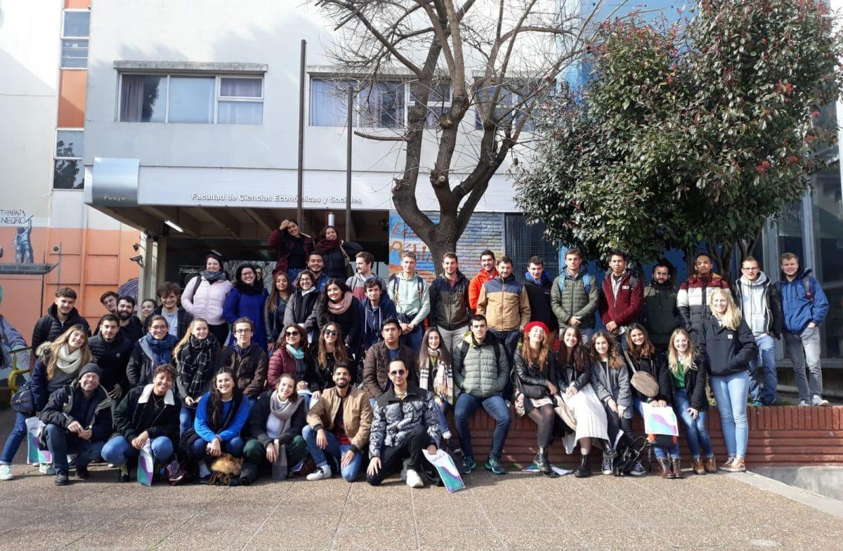 Cada vez son más los extranjeros que vienen a estudiar a la Universidad Nacional de Mar del Plata