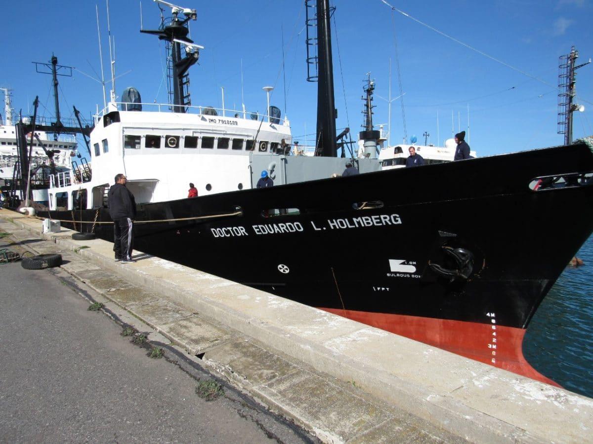 Zarpó desde Mar del Plata buque de investigación que realizará campaña sobre vieira patagónica