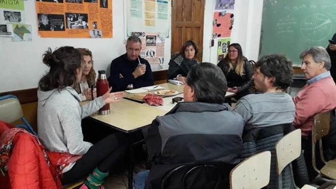 Polideportivos: candidatos del Frente de Todos se reunieron con la Red Camet