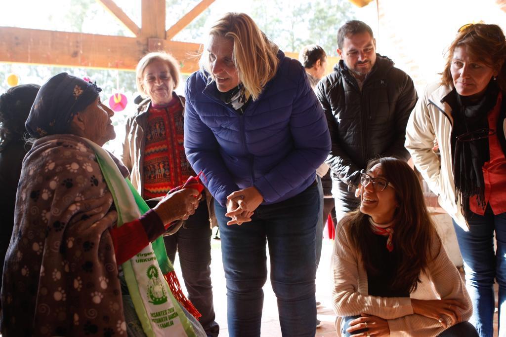 Baragiola se sumó al «Día de la Pachamama» junto a la comunidad boliviana