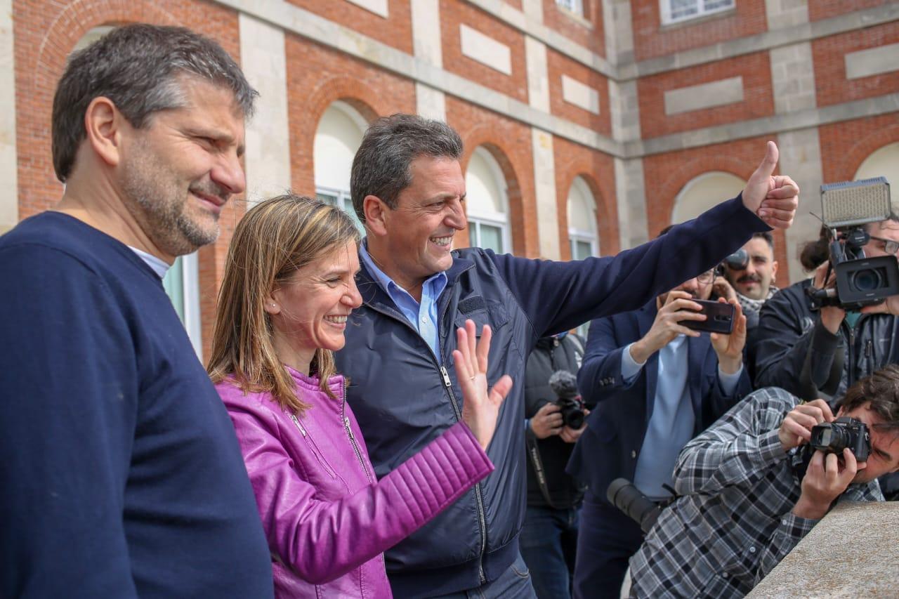 Massa, Ciano y Raverta con jóvenes y emprendedores de Mar del Plata