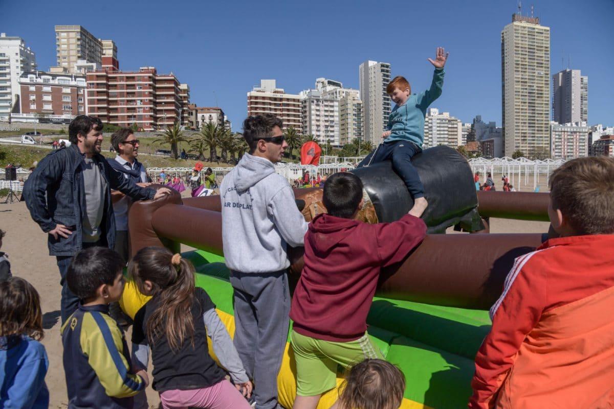 """El Municipio realizó una jornada de recreación para dar la """"Bienvenida a la primavera"""""""