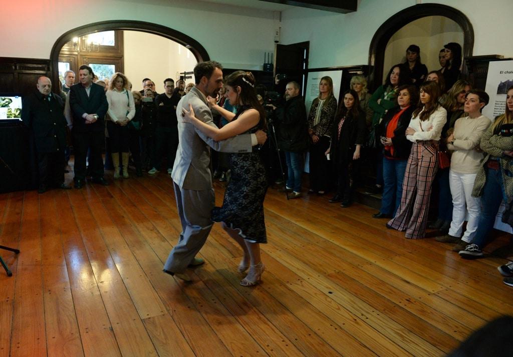Arroyo presentó el Espacio Tango que funcionará en el chalet Ave María