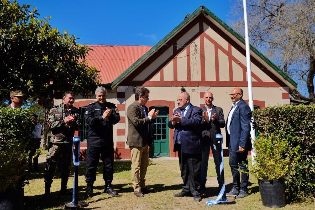 Arroyo y Ritondo inauguraron la nueva sede de la Policía Rural
