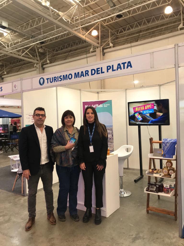 Mar del Plata promocionó su oferta turística y gastronómica en Comodoro Rivadavia