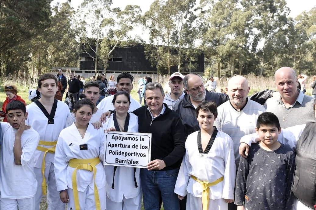 Pulti: «Los polideportivos deben ser una política de estado marplatense»