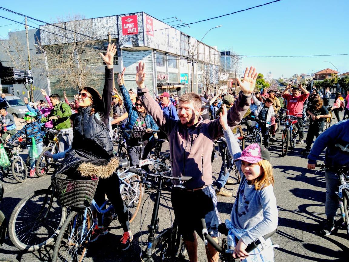 """Bonifatti: """"En el 2020 la Caravana de la Primavera debería inaugurar una red de ciclovías"""""""