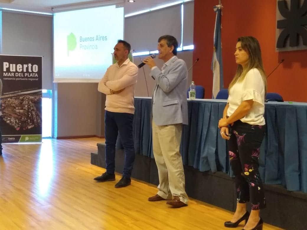Quedó inaugurado el primer centro formación en oficios portuarios del país