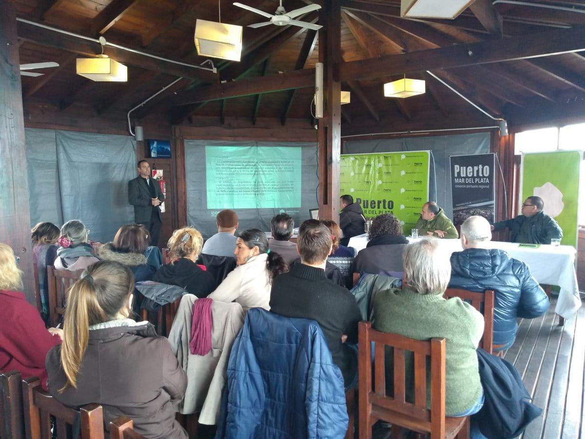 Iniciaron el debate para el plan de manejo dela Reserva Natural Puerto Mar del Plata