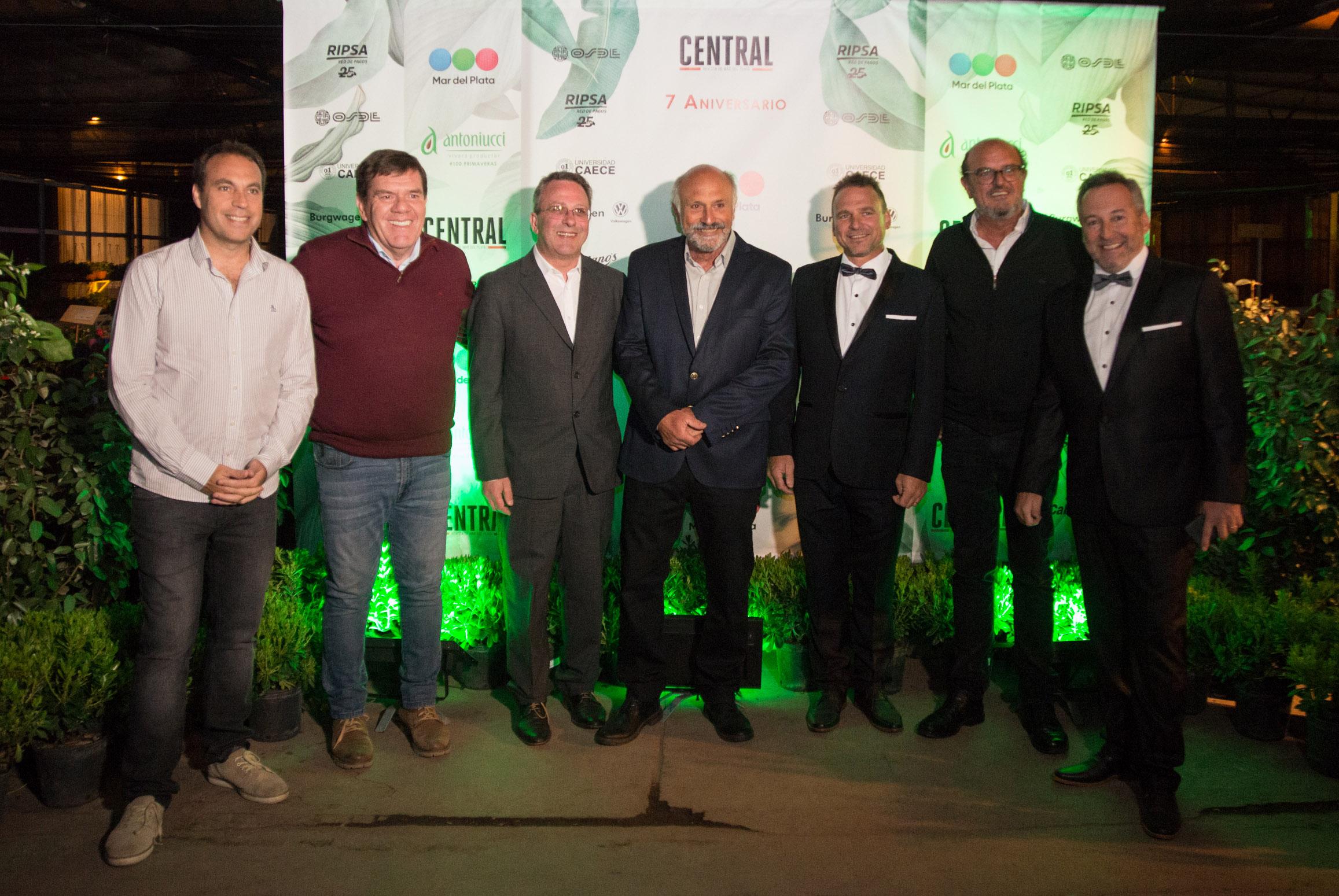 Revista Central celebró su séptimo aniversario