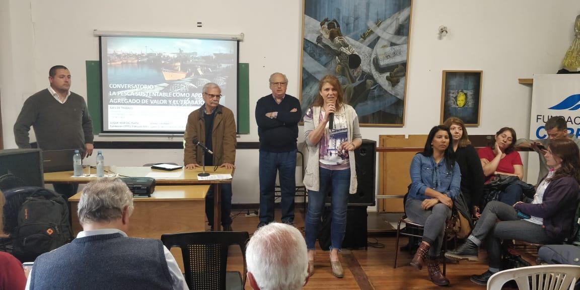 """""""La problemática de la pesca y del puerto requieren un nuevo modelo de gestión"""""""