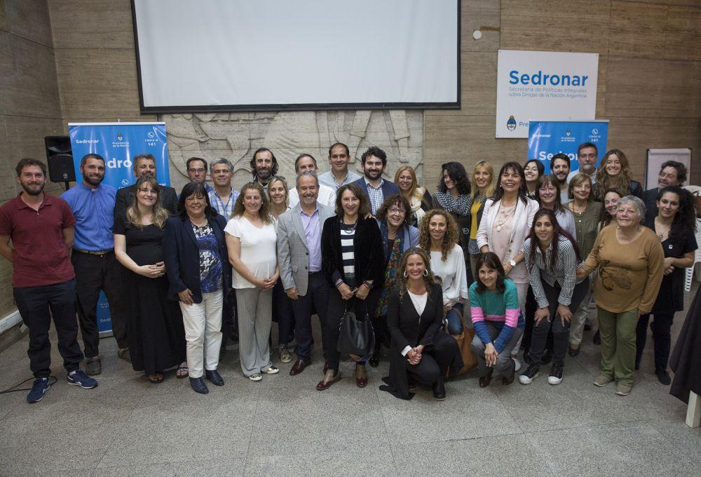 SEDRONAR financiará proyecto preventivo de una ONG de Mar del Plata