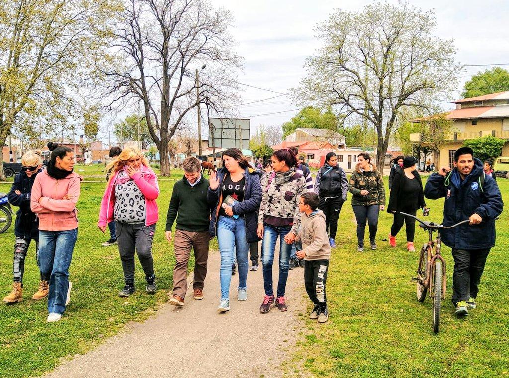 Bonifatti: «los barrios no pueden seguir esperando, el progreso tiene que llegar HOY»
