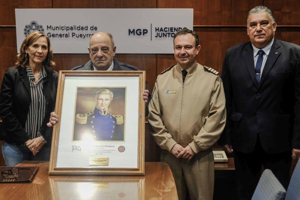 Arroyo declaró de Interés Municipal el bicentenario del fallecimiento del primer Prefecto Nacional Naval