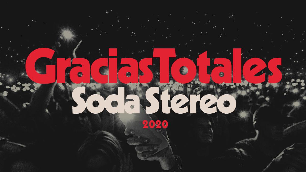 """""""Gracias Totales"""" Soda Stereo - Preventa"""