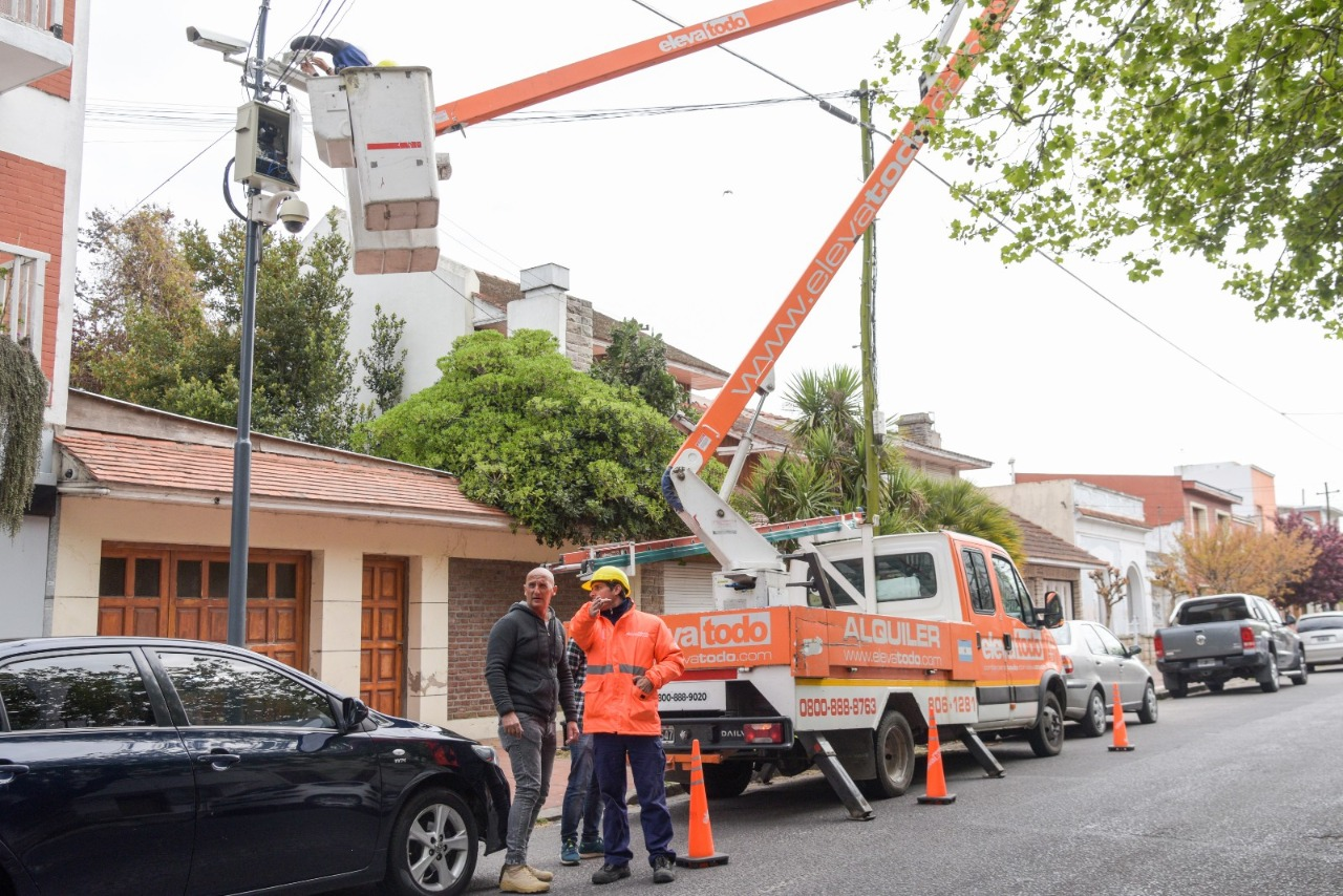 Mar del Plata ya cuenta con 1138 cámaras de seguridad instaladas