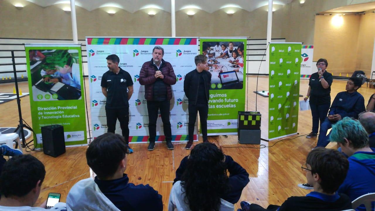 La Robótica y la Innovación presentes en los Juegos Bonaerenses 2019