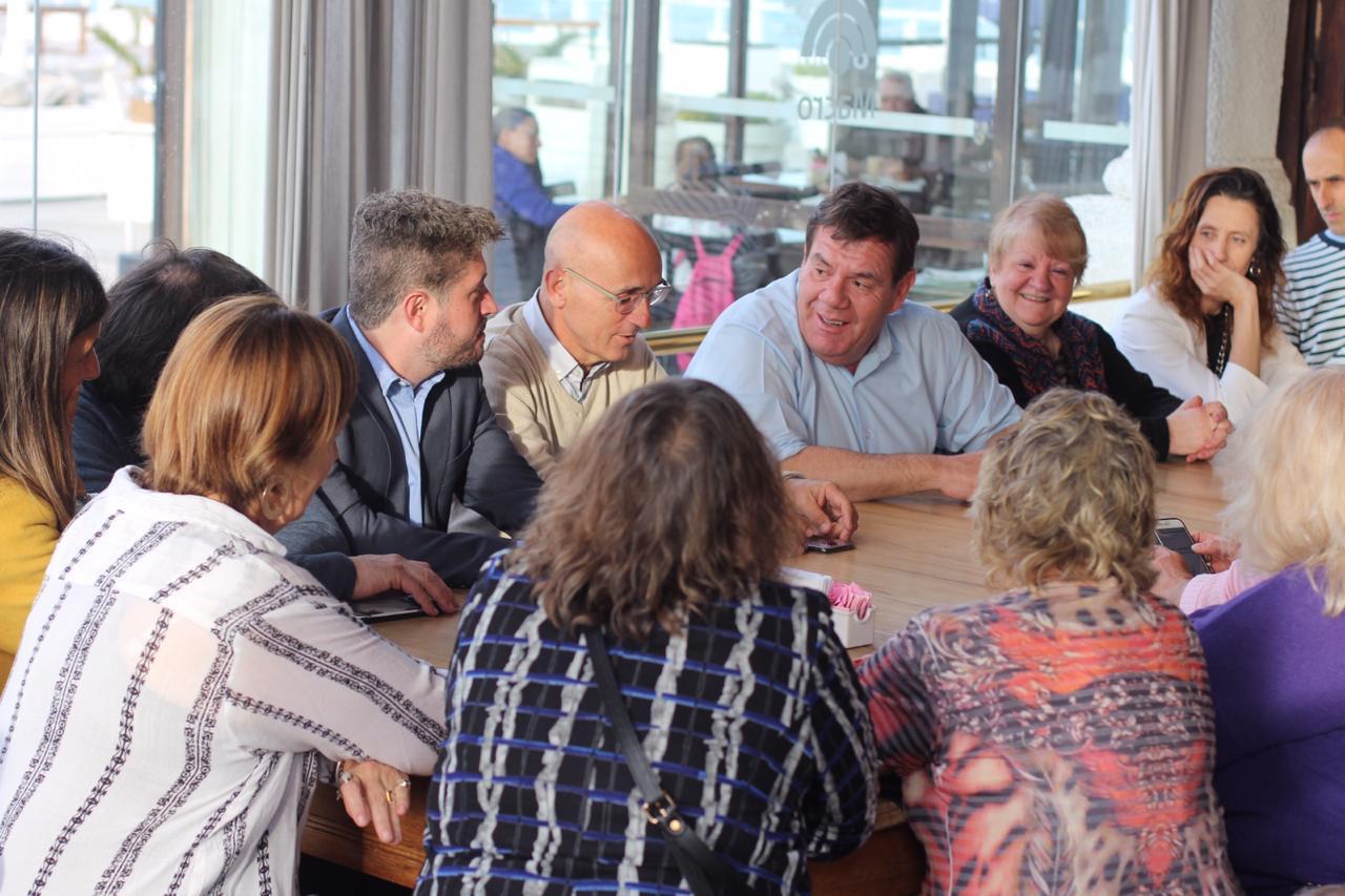 Montenegro ratificó a docentes municipales la devolución de la bonificación