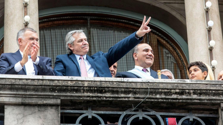 """""""Vamos a arremangarnos para que nadie más pase hambre"""", dijo Alberto Fernández"""