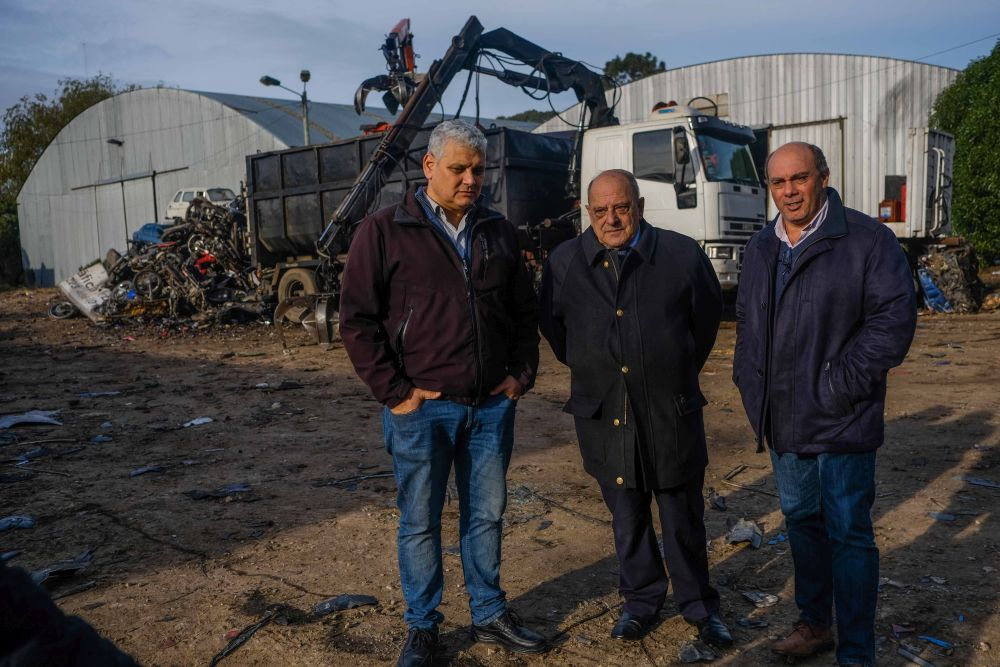 El municipio anuncia la segunda etapa de compactación de vehículos
