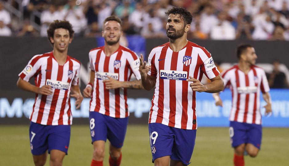 Contundente victoria del Atlético de Madrid vs Bayer Leverkusen