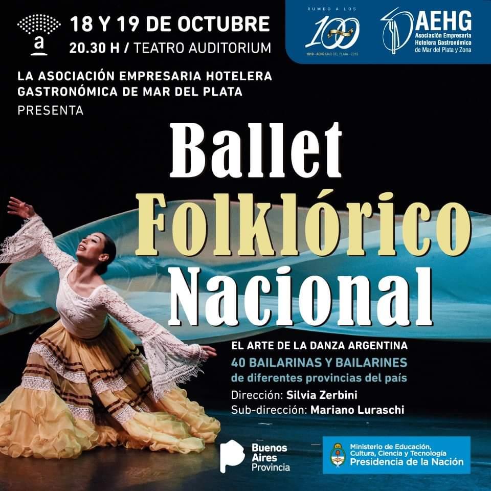 El Ballet Folklórico Nacional se presenta en Mar del Plata