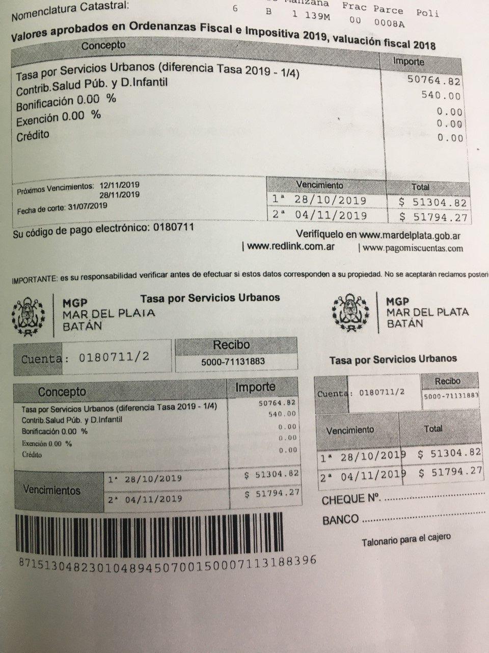 """La Defensoría del Pueblo reclama el cese del """"tarifazo"""" de las tasas municipales"""