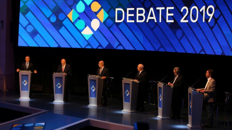 Tema por tema: las frases y declaraciones de los candidatos en el primer debate obligatorio