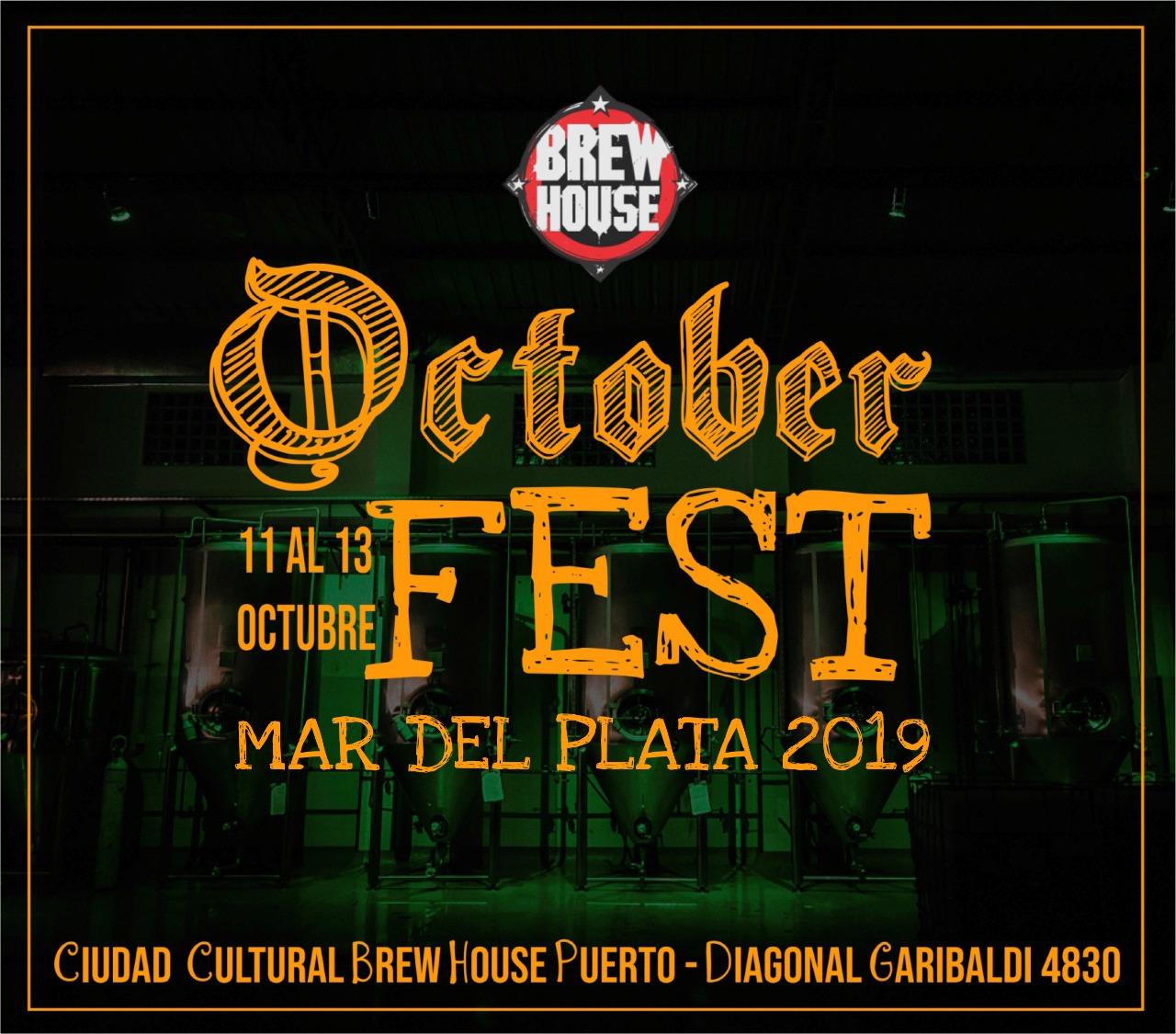 Con una propuesta diferente Mar del Plata celebra el Octoberfest 2019