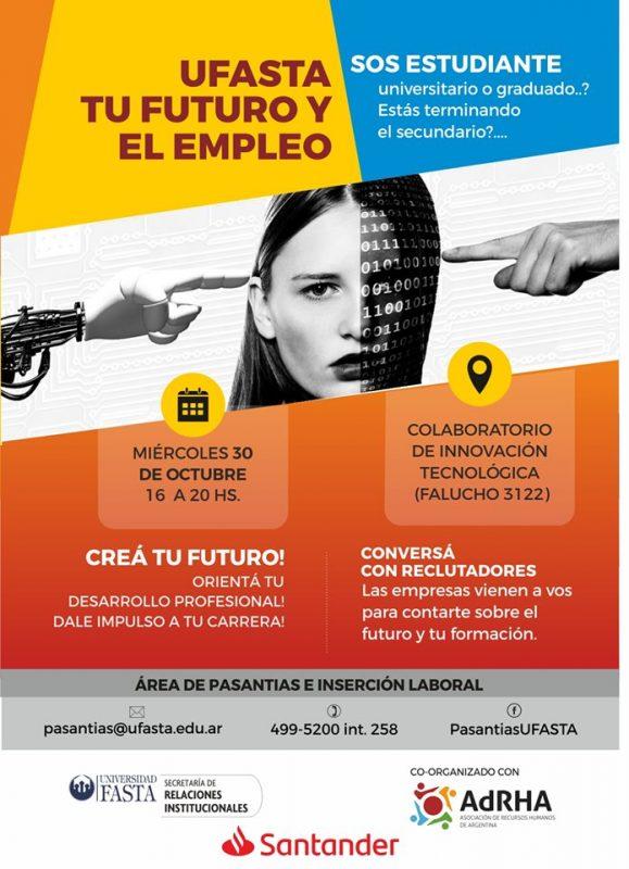 """Se realizará la Feria """"El futuro y el empleo"""" en la Universidad Fasta"""